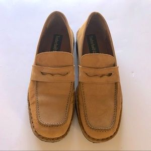 Timberland Loafers Brown Suede Size 7